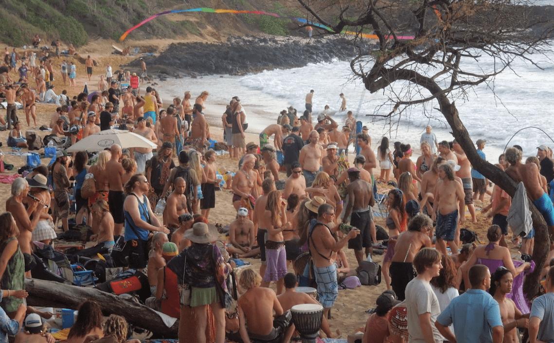 Little Beach (Puu Olai Nude Beach) - YouTube